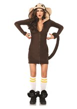Picture of Cozy Monkey Dress Adult Womens Costume