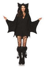 Picture of Cozy Bat Dress Adult Womens Costume
