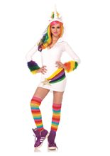 Picture of Cozy Unicorn Dress Adult Womens Costume