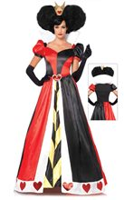 Picture of Queen of Hearts Deluxe Adult Womens Costume