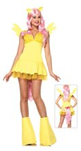 Picture of Fluttershy Pony Adult Womens Costume
