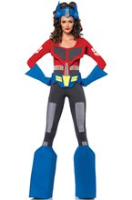 Picture of Transformers Optimus Prime Catsuit Adult Womens Costume