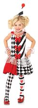 Picture of Harlequin Clown Child Costume