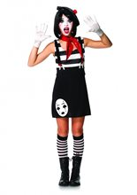 Picture of Miss Mime Juniors Costume