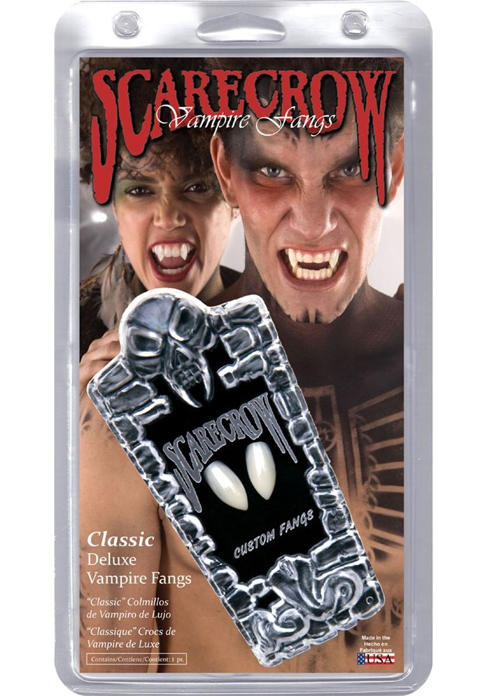 Picture of Classic Deluxe Vampire Fangs (Ships for $1.99)