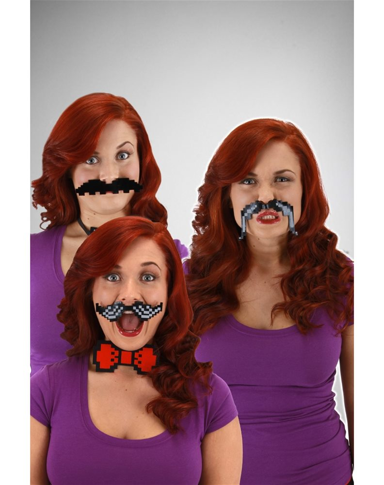 Picture of Pixel-8 Moustache Accessory Set (Ships for $1.99)