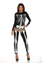 Picture of Bad to the Bone Skeleton Adult Womens Costume