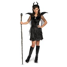 Picture of Maleficent Deluxe Gown Tween & Teen Costume