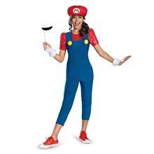 Picture of Miss Mario Tween Girl Costume