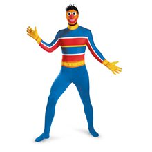 Picture of Ernie Bodysuit Adult Mens Costume