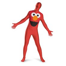 Picture of Elmo Bodysuit Adult Mens Costume