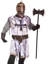 Picture of Zombie Knight Adult Mens Costume