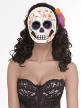 Picture of Day of the Dead Female Mask