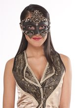 Picture of Medieval Woman Half Mask