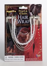 Picture of Pearl & Chain Hair Wrap
