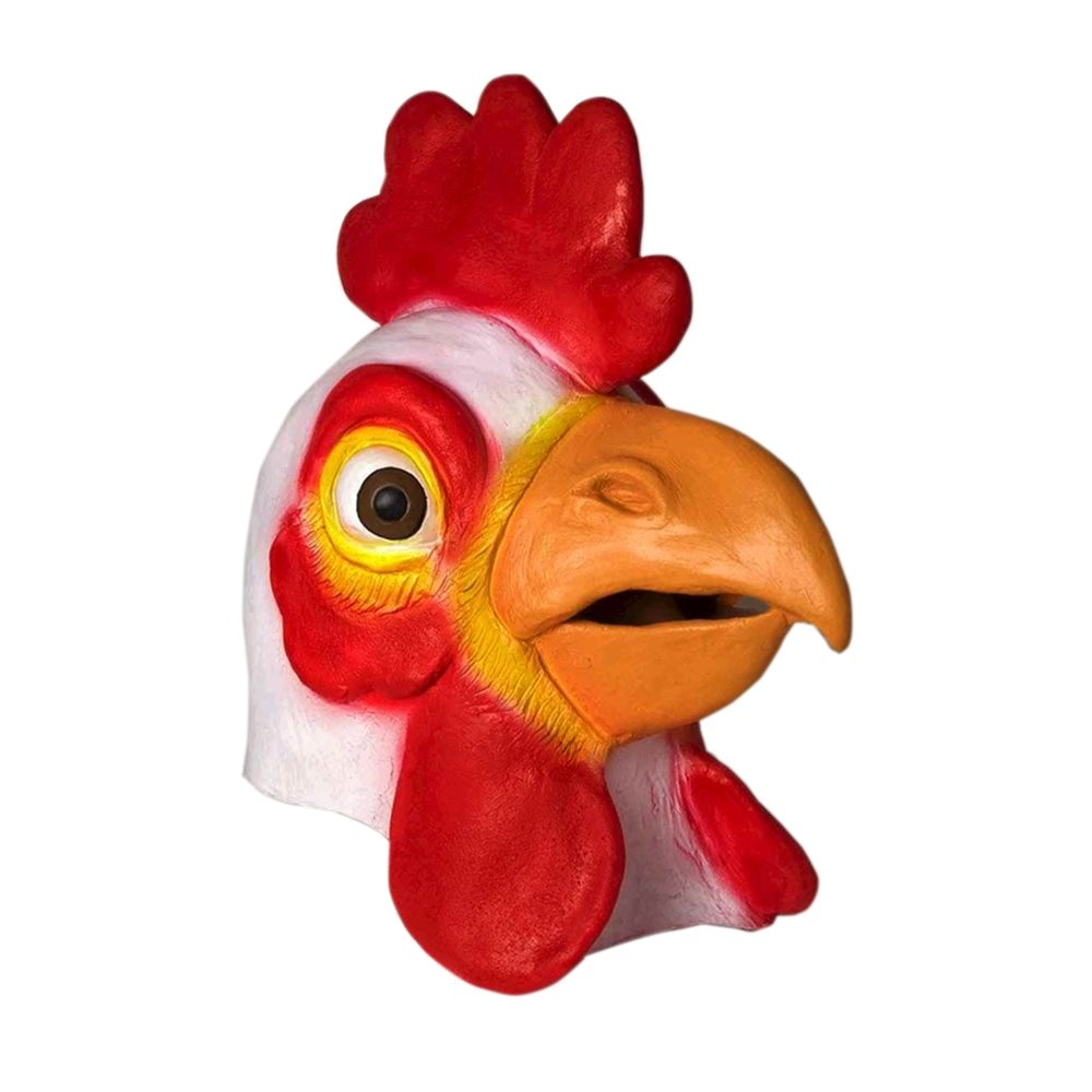Picture of Chicken Deluxe Latex Mask