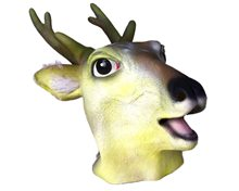 Picture of Deer Deluxe Latex Mask