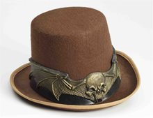 Picture of Steampunk Skull Hat Band