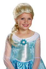 Picture of Disney Frozen Movie Elsa Child Wig