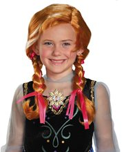 Picture of Disney Frozen Movie Anna Child Wig