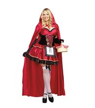 Picture of Little Red Adult Womens Plus Size Costume