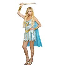Picture of Dragon Warrior Queen Adult Womens Costume