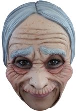 Picture of Old Lady Chinless Mask
