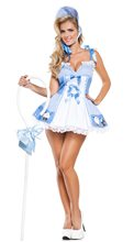 Picture of Blue Little Bo Peep Cutie Adult Womens Costume
