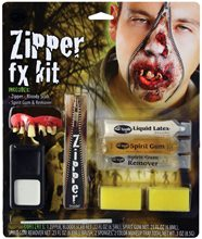 Picture of Deluxe FX Zipper Zombie Makeup Kit