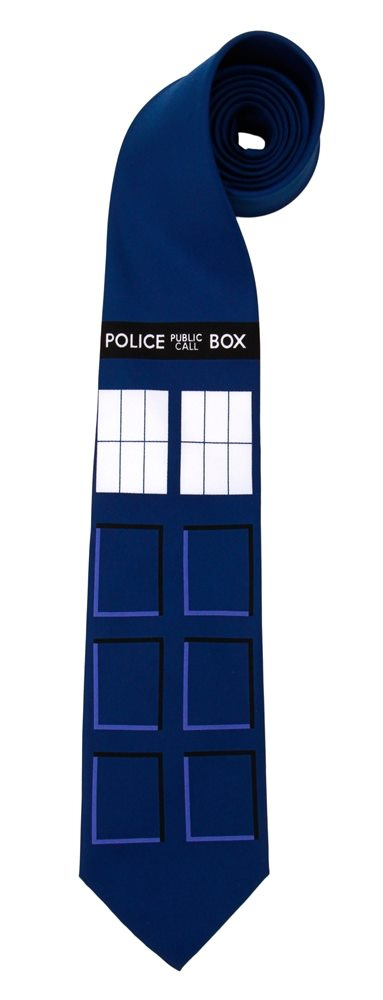 Picture of Doctor Who Tardis Necktie