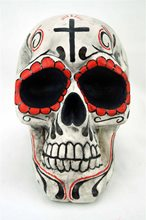 Picture of Giant Day of the Dead Skull Prop