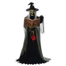 Picture of Spell Speaking Witch Animated Prop