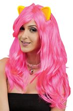 Picture of Cat Fantasy Pink Wig with Ears