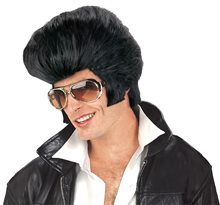 Picture of Rock & Roll Pompadour Black Wig