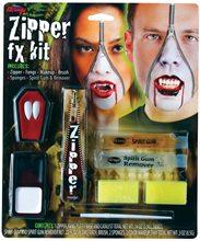 Picture of Deluxe FX Zipper Vampire Makeup Kit