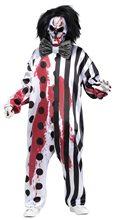 Picture of Bleeding Killer Clown Adult Mens Costume