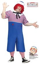 Picture of Raggedy Andy Adult Mens Plus Size Costume