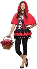 Picture of Sweet Red Riding Hood Juniors Costume