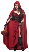 Picture of Dark Red Riding Hood Adult Womens Plus Size Costume