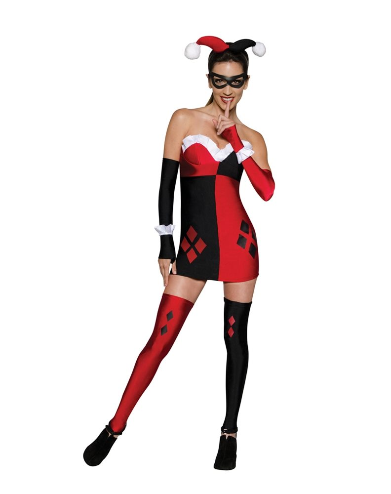Picture of Harley Quinn Adult Womens Costume