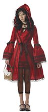 Picture of Victorian Red Riding Hood Tween Costume