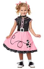 Picture of 50s Poodle Cutie Toddler Costume
