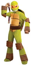Picture of Teenage Mutant Ninja Turtles Michelangelo Deluxe Child Costume