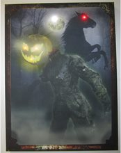 Picture of Vintage Headless Horseman Light-Up Photo