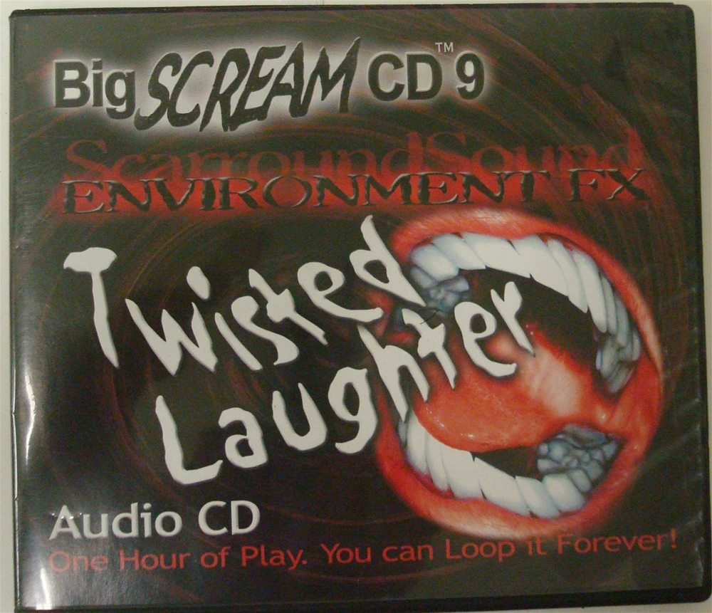 Picture of Big Scream Twisted Laughter Environment FX CD