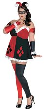 Picture of Harley Quinn Adult Womens Plus Size Costume
