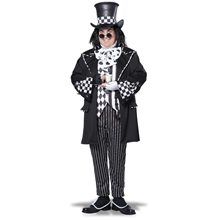 Picture of Dark Mad Hatter Adult Mens Plus Size Costume