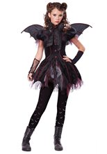 Picture of Victorian Vampiress Tween Costume