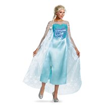 Picture of Elsa Deluxe Adult Womens Costume