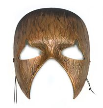 Picture of Gold Inferno Fiery Textured Mask